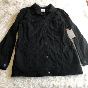NWT LuLaRoe Jaxon Black Denim Jacket